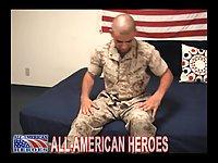 Hot Soldier Drops His Pants