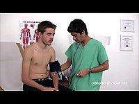 Horny Doc Examines His Nude Patient