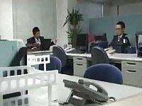 Japanese office fuck