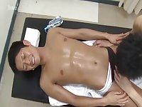 Japanese sex after massage