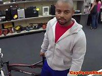 Pawnbroker gives ebony straight cash for bj