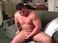 Fat Solo Guy Whacking Off