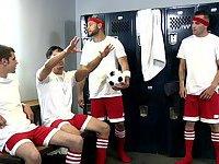 Winning Ball - Blaze, Rafael Alencar, Johnny Rapid, Leo Forte and Brad Foxx