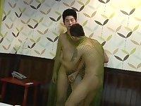 Asian guys enjoy sex