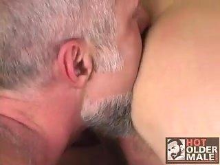 Gray Gays Sucking & Banging