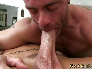 Stud gets his massive cock sucked
