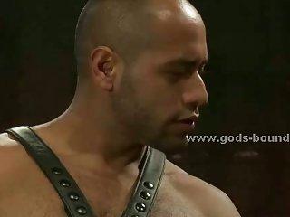 Shaved gay sado maso extreme sex