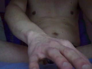 Jerking off while on chat
