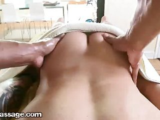 Therapist Spreads Clients Ass Cheeks