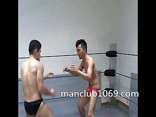 Gays wrestling sex game