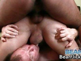 Humping hard cock and big gay bear asses