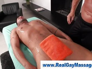 Straighty gets dildo in his tight ass