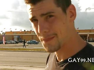 Hot white & black gay sex