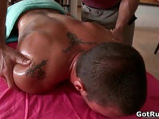 Ripper gay stud gets hot rimming
