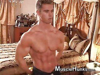 Cute Body Builder Teasing