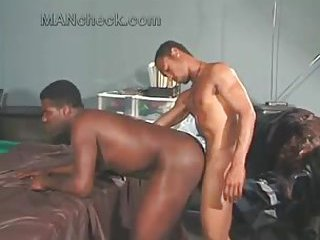 Horny Black Guy Gets His Ass Pounded