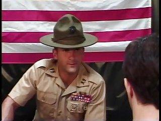 Guy In Uniform Makes Interracial Guys Fuck