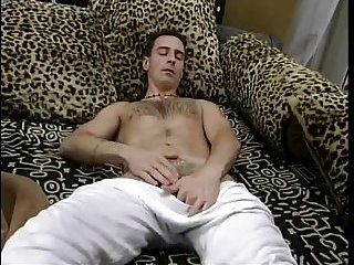 Horny Stud Whacking Off