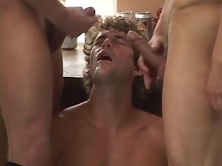 Gay loves taste of cum