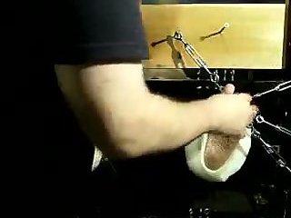 Tickling His Feet