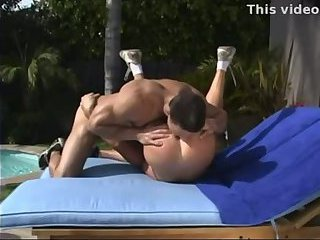 Lustful Gay Guys Outdoor Ass Nailing