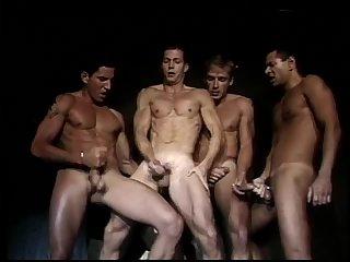 Lewd Gay Guys Group Banging