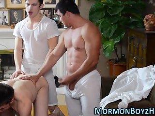 Mormons remove garment