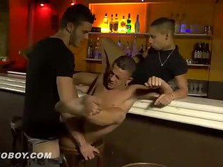 Stripper fucked, French