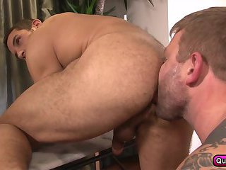 Straight Man's First Sex with Male Buddy